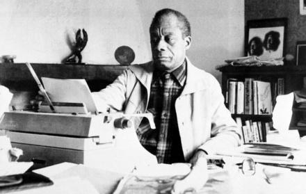 Baldwin in 1983. (AP)